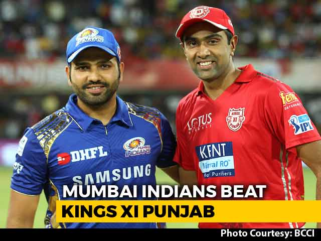 Video : IPL 2018: Suryakumar Yadav, Krunal Pandya Power Mumbai Indians To A 6-Wicket Win Over KXIP