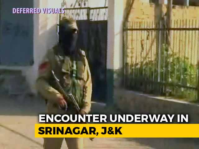 Video : 3 Terrorists Killed In Srinagar's Chattabal; 3 CRPF Men Injured