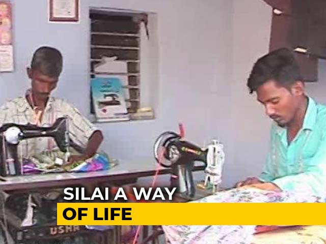 Video: Rural Men From Coimbatore Find Their Niche In Stitching