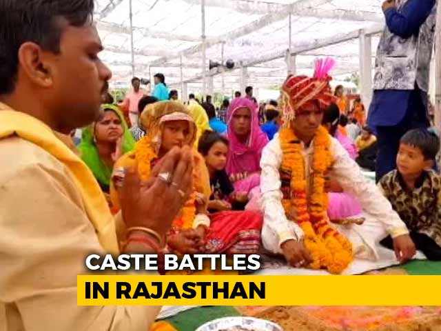 Video : Caste Politics And Dalit Unrest May Have A Bearing On Rajasthan Polls