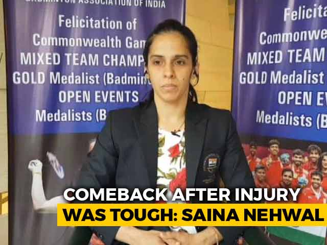 Really Happy That PV Sindhu Is Doing So Well: Saina Nehwal