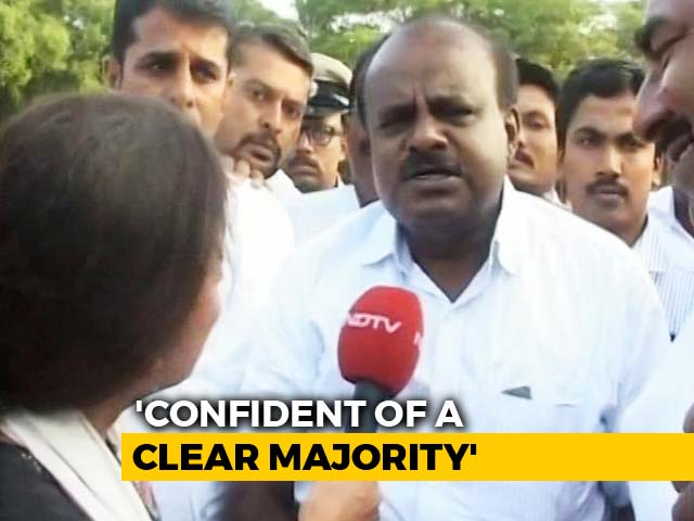 Video : JD(S) To Get Majority On Its Own In Karnataka Polls, Says HD Kumaraswamy