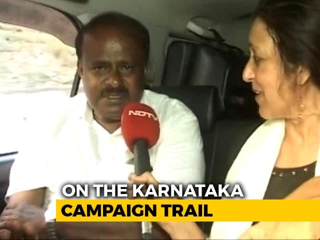 Video : On The Campaign Trail With HD Kumaraswamy - Kingmaker Or King?
