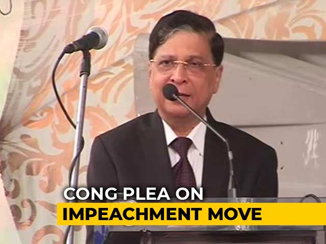 Video : 5 Judges To Hear Plea On Rejected Chief Justice Impeachment Move