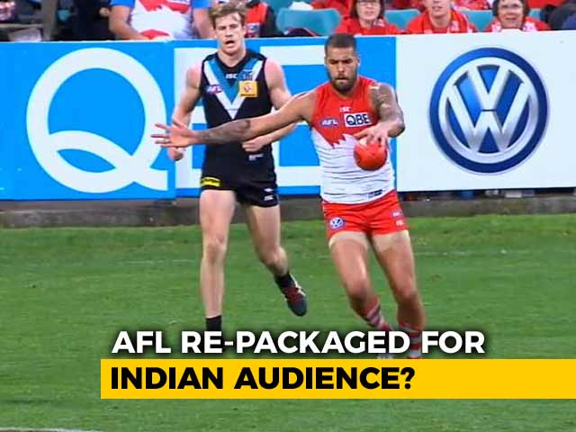 Video : Kabaddi Inspires AFL's March Into India