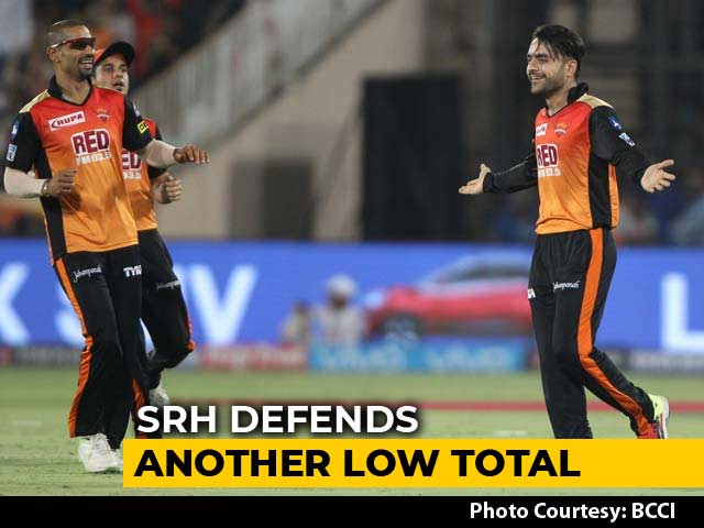 Video : IPL 2018: SRH Defend Low Total To Beat RCB In Last-Over Thriller