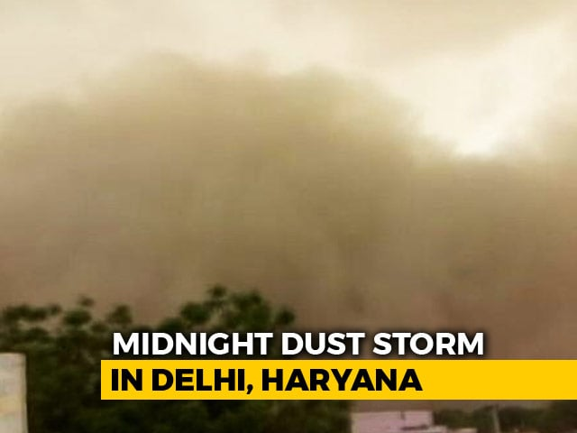 Video : Delhi And Suburbs On Storm Alert, Advice For Schools And Metro