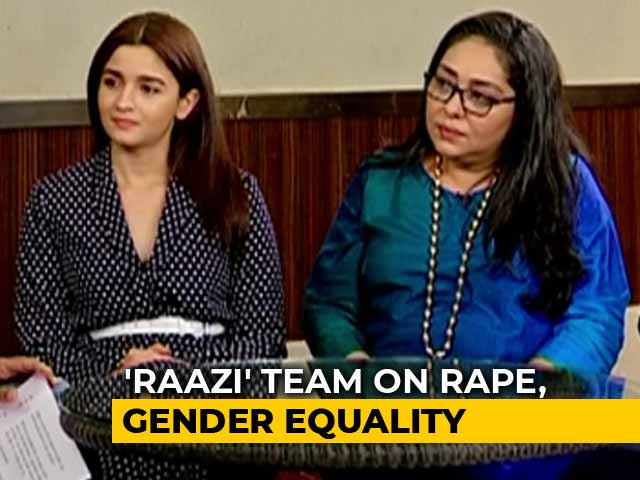 Video : Alia Bhatt & Meghna Gulzar On Women Empowerment & Equality