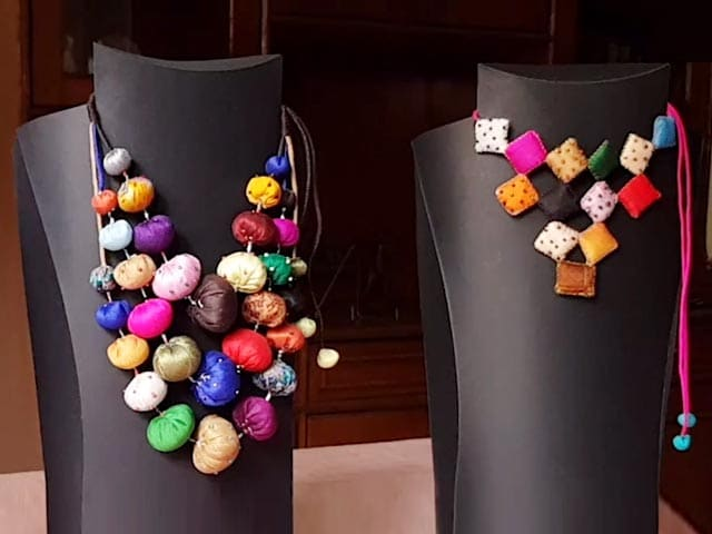 Bringing Fabric Jewellery To The Spotlight Is Designer Paulami Saha