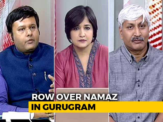 Video : Gurugram Namaz Row Intensifies