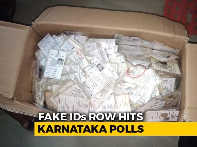 Video : 10,000 Voter IDs In Bengaluru Apartment Triggers Probe, Midnight Drama