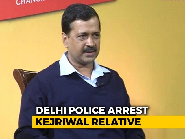 Video : Arvind Kejriwal's Relative Vinay Bansal Arrested In A Corruption Case