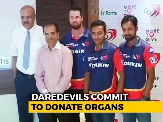 Video : Delhi Daredevils' Commitment Off The Field