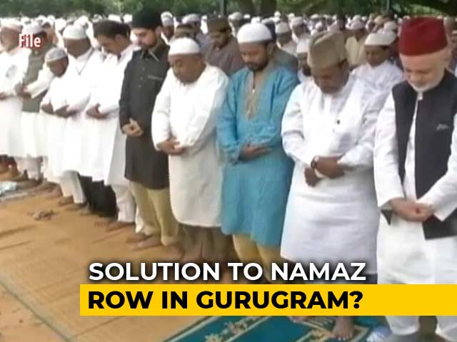 Video : 'Amicable Solution Within 15 Days': Gurgaon Top Official Over Namaz Row