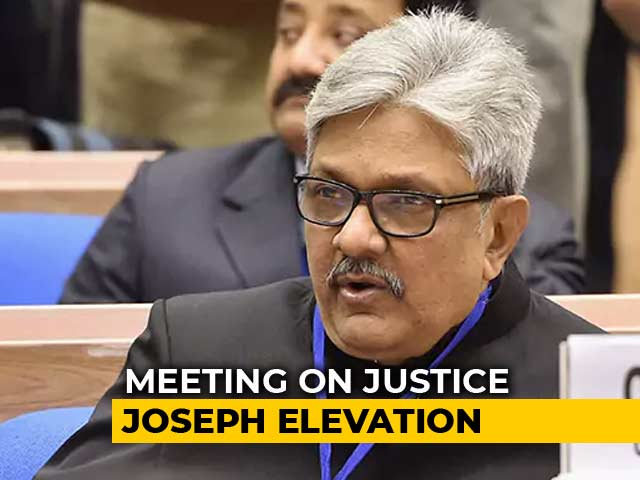 Video : On Justice KM Joseph's Elevation, Supreme Court Collegium To Meet Tomorrow