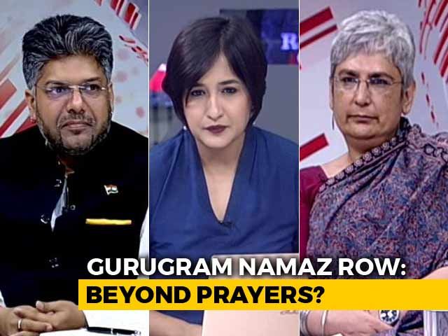 Video : Namaz Row In Gurugram: Right To Pray VS Civic 'Inconvenience'?