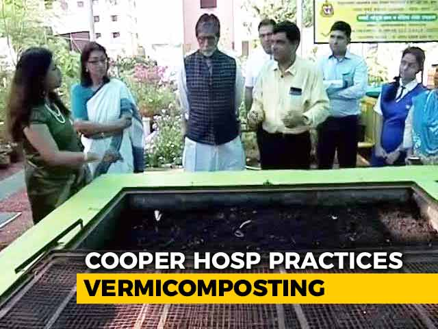 Video : Amitabh Bachchan On How Mumbai's Cooper Hospital Became Pollutant Free