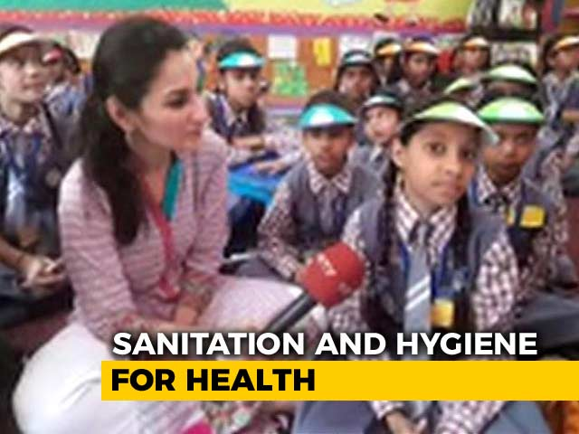 Video : How Delhi School Kids Are Strengthening Water, Sanitation & Hygiene Concepts