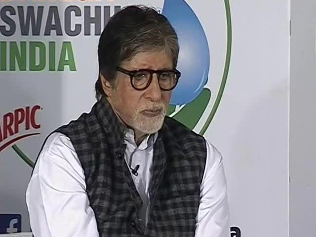 Video : To Curb Air Pollution, I Pledge To Plant 100 Trees: Amitabh Bachchan