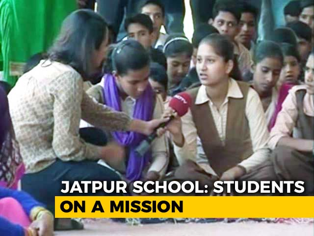 Video : More Toilets Lead To Rise In Attendance In Jatpur School, Alwar