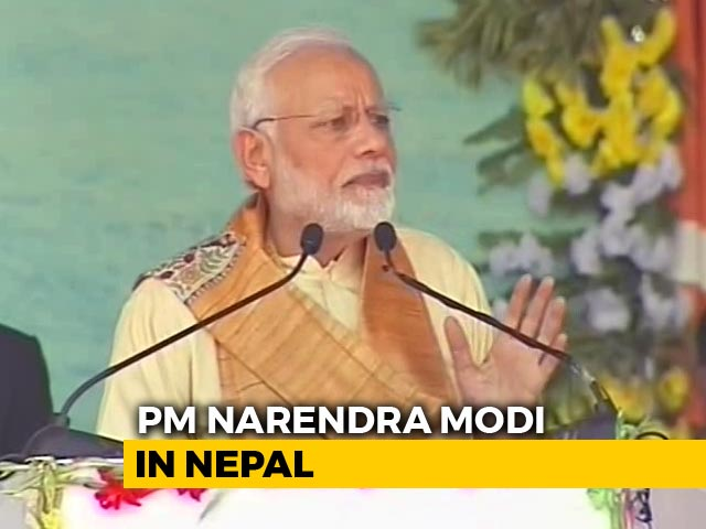 Video : India's History, Faith, Lord Ram Incomplete Without Nepal: PM Modi