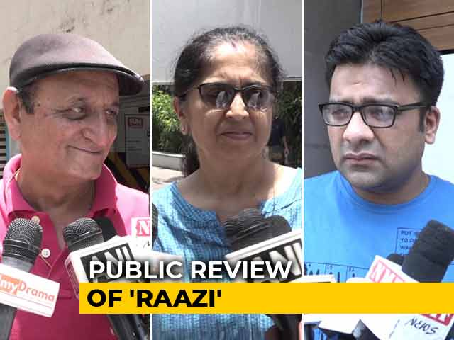 First Show Reactions Of Alia Bhatt's Raazi