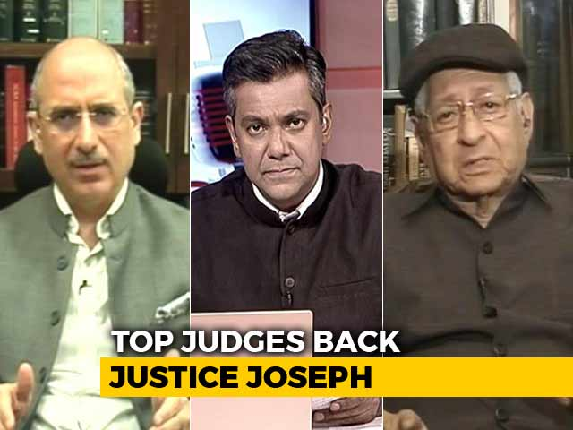 Video : Collegium To Reiterate Justice KM Joseph's Name For Elevation To Supreme Court