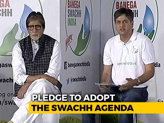 Video : Amitabh Bachchan Launches NDTV-Dettol Banega Swachh India Season 5