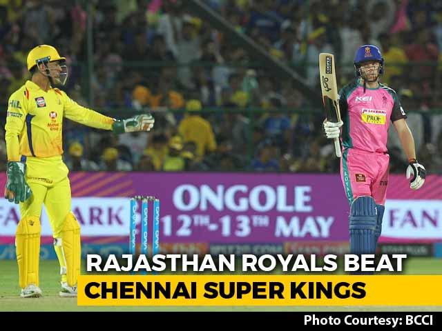 Video : IPL 2018: Jos Buttler's Unbeaten 95 Helps Rajasthan Royals Outplay CSK