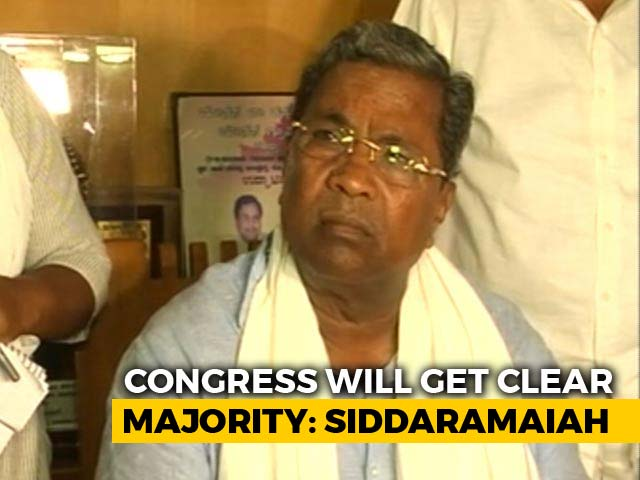 Video : Siddaramaiah To NDTV On Needing JDS Help After Karnataka Exit Polls
