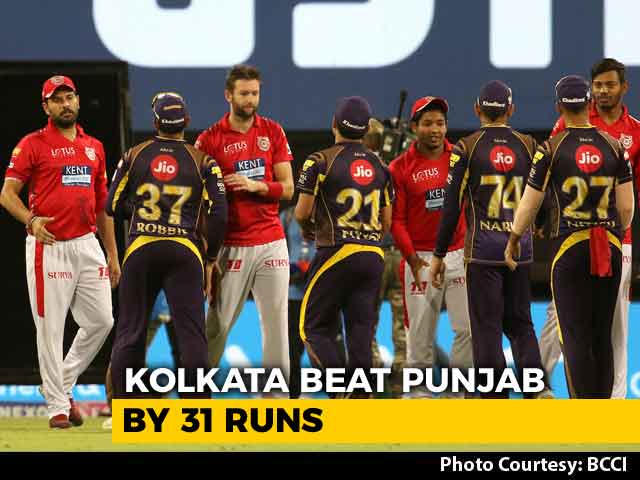 Kolkata Beat Punjab By 31 Runs To Stay In Play-Offs Hunt