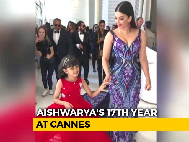 Cannes 2018: Watch Aishwarya And Aaradhya's Spectacular Entry