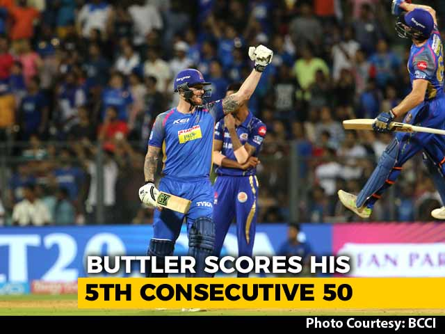 IPL 2018: Jos Buttler Powers Rajasthan Royals To A Key Win vs Mumbai Indians