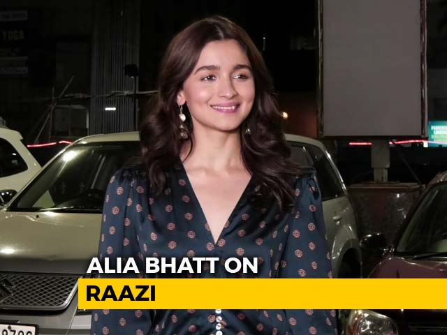 Video : When I Saw The Audience Crying, I Felt My Job Was Done: Alia Bhatt