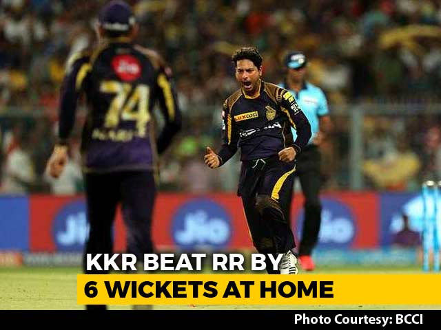 IPL 2018: Kuldeep, Russell Push Kolkata Knight Riders Closer To Playoffs