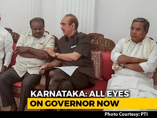 Video : Day After Karnataka Verdict, BJP, JDS To Meet Governor Again