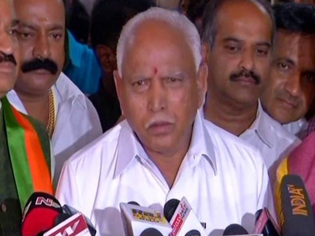 Video : Yeddyurappa Meets Governor, Congress-JDS Next In Line