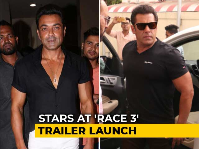 Race 3 Trailer Launch: Salman, Bobby & Other Cast Members Arrive In Style