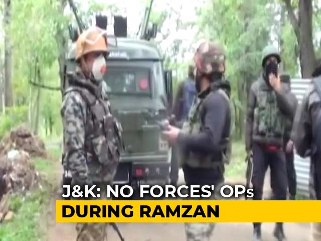 Video : No Security Operations In Jammu And Kashmir During Ramzan, Says Centre