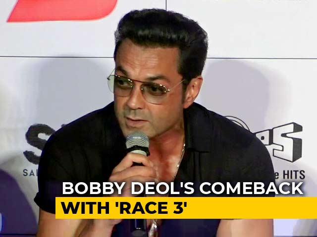 Video : Bobby Deol On His Comeback In <i>Race 3</i>