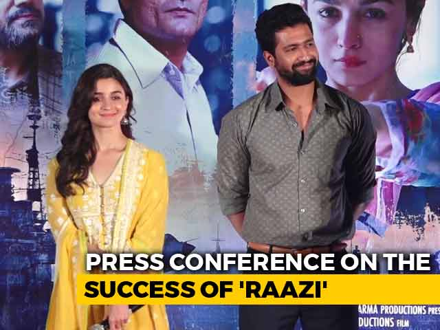 Alia Bhatt And Vicky Kaushal On The Success Of Raazi
