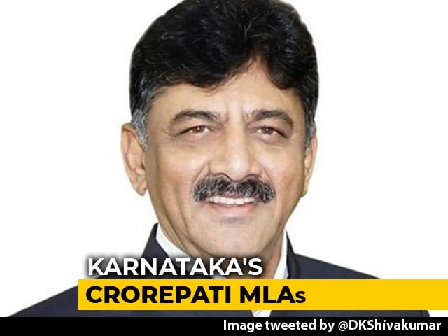Video : 97 Per Cent Of Newly Elected Karnataka Lawmakers Are Crorepatis: Report