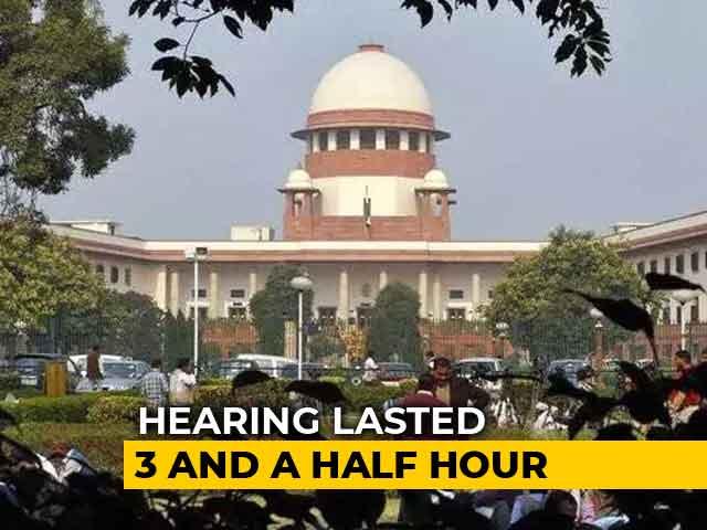 Video : Karnataka Game Of Thrones: An Unprecedented Overnight Hearing In Supreme Court