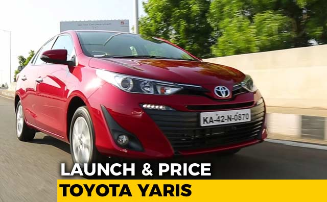 New Toyota Yaris Launched | Prices & Specs | NDTV CarAndBike