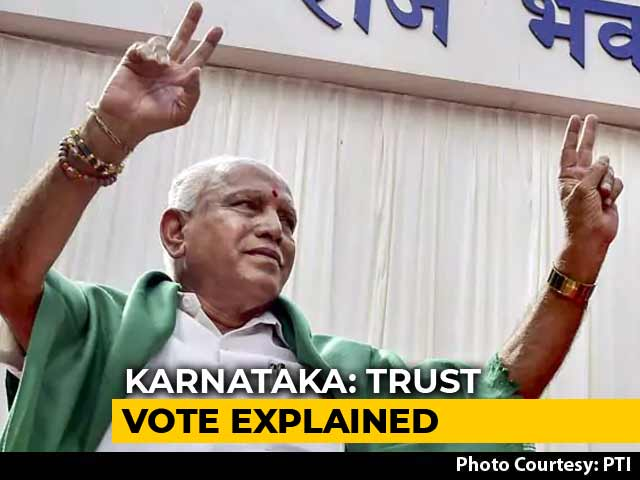 Video : Karnataka Trust Vote: Five Options Before The BJP