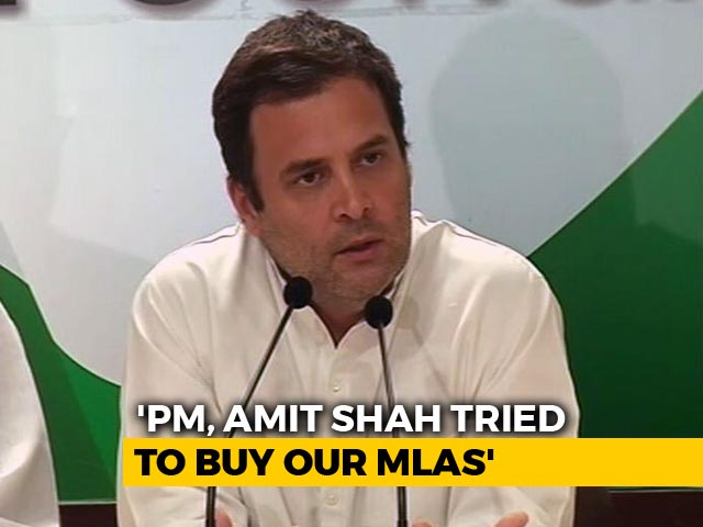 Video : Hope BJP Has Learnt Lesson, Says Rahul Gandhi About Karnataka