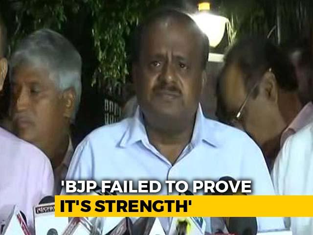 Video : HD Kumaraswamy Oath On Wednesday, Invites Rahul Gandhi, Mayawati