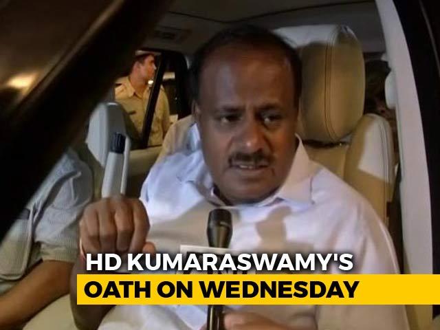 Video : HD Kumaraswamy's Oath Next Week Turns Into Show Of Opposition Unity