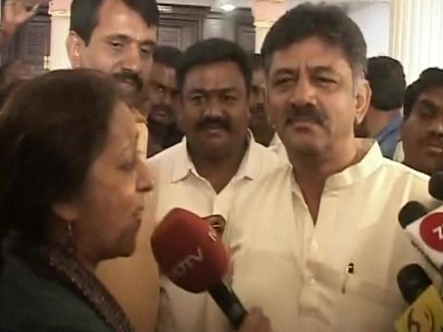 "Video : ""My Magnetic Personality"": DK Shivakumar On Bringing Back Missing Lawmakers"