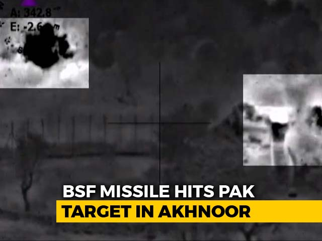 "Video : Pak Troops Forced To ""Plead For Ceasefire"" After We Retaliated, Says BSF"